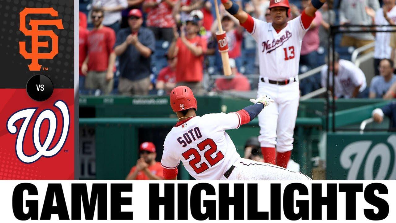 Download Giants vs. Nationals Game 1 Highlights (6/12/21) | MLB Highlights