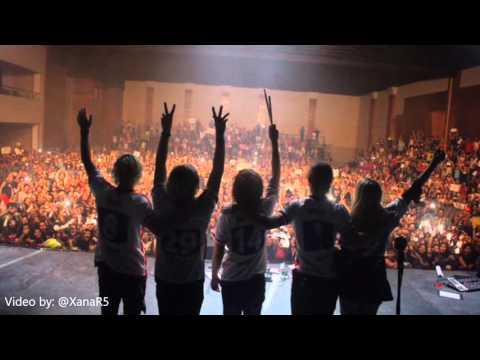 R5 Sometime Last Night Tour Review - 1 photo per concert