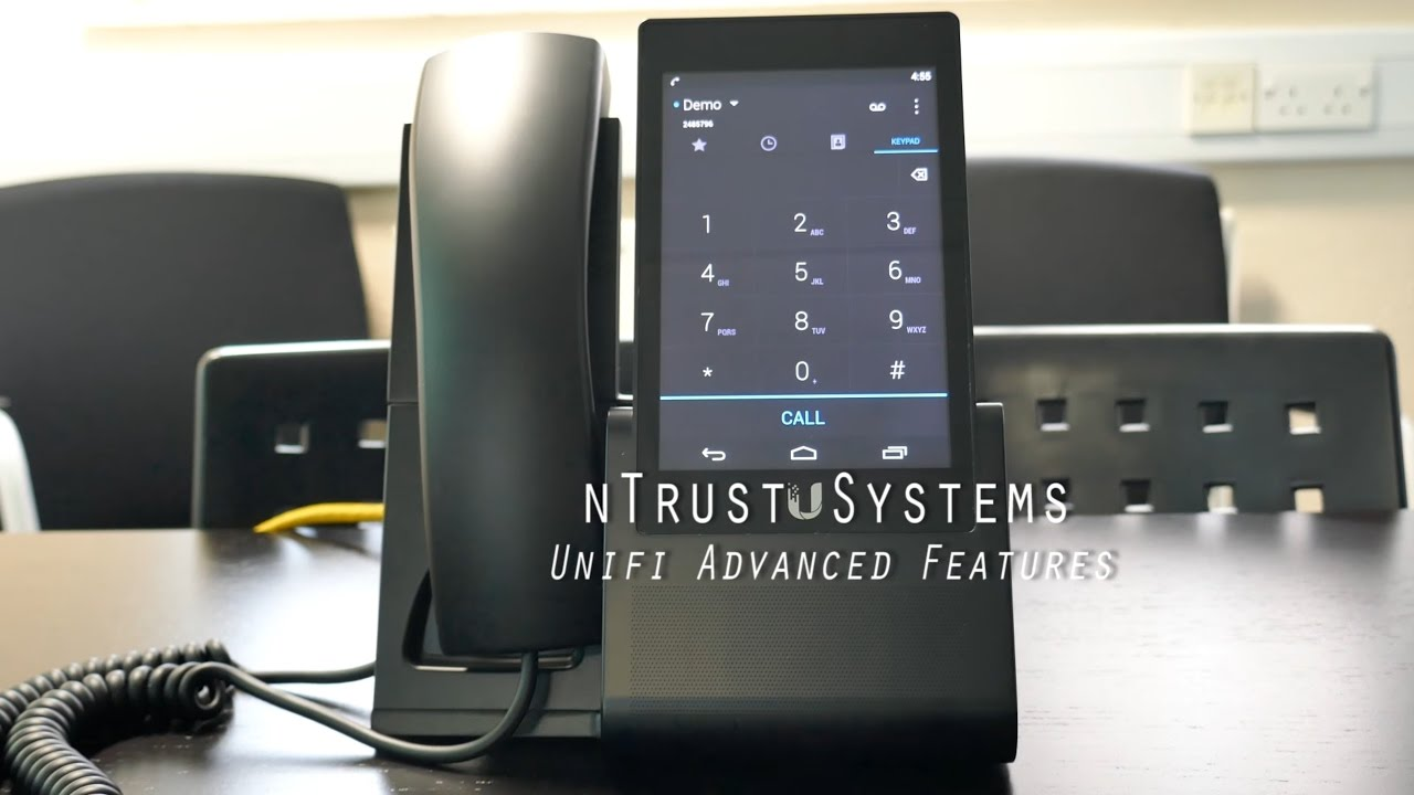 Unifi VoIP Phone Advanced Features