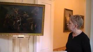 Выставка одной картины - работы неизвестного художника XVIII века