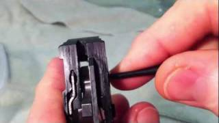 Ruger LC9 Trigger Improvements Installation 4