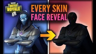 CHAQUE MASKED FORTNITE SKIN FACE REVEAL (100% LEGIT!)