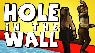 Hole in the Wall - (Kinect With Girlfriend)