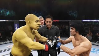 Shrek vs. Bruce Lee (EA Sports UFC 2) - CPU vs. CPU