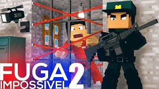 Minecraft: A PRISÃO MAIS PERIGOSA DO MUNDO! - FUGA IMPOSSÍVEL 2 #3