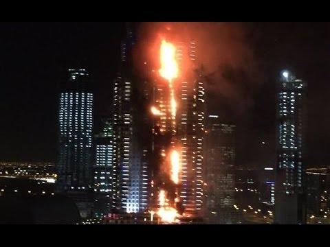 Небоскреб дубай пожар купить квартиру за границей на авито