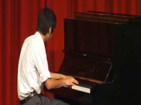 Richard Lin AmusA  Chopin Waltz In A Flat, Op 42 X264