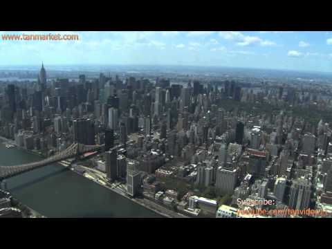 Skyline view of New York City - youtube.com/tanvideo11