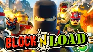 SMITE, Minecraft & Team Fortress 2 Had A Baby! - Block N Load O.P. Juan Shinobi Gameplay