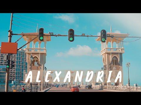 The beauty of Alexandria, Egypt