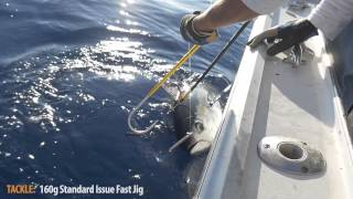 Vertical Jigging for Big Eye Tuna at Atlantis Canyon