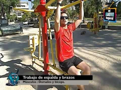 Maquinas de ejercicios al aire libre: Cómo usarlas correctamente.