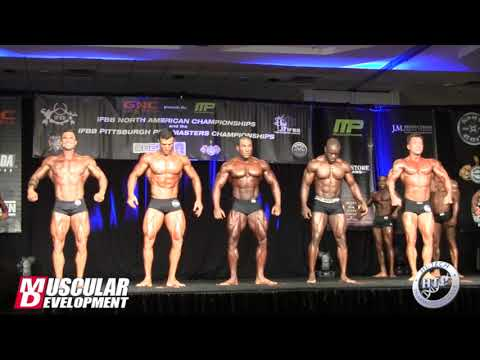 North Americans Classic Physique Class A First Callouts
