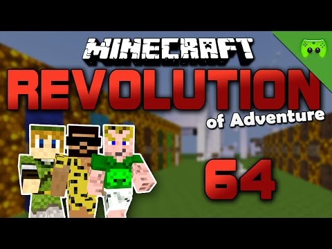 MINECRAFT Adventure Map # 64 - Revolution of Adventure «» Let's Play Minecraft Together | HD