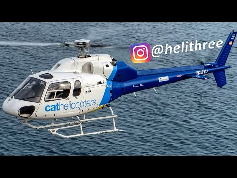Full HD AS355 F2 Ecureuil 2 / TwinStar Helicopter Compilation
