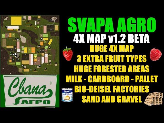 Lawn Care - Farming Simulator 17 - SAVAPA AGRO 4X Map v1 2 Beta