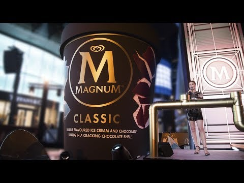 Launch of Magnum Pints 2017, carefully #MadeToBeBroken  | Magnum Ice Cream Singapore