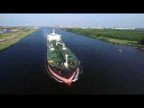 Oil chemical Tanker Ship Golden Energy Puma