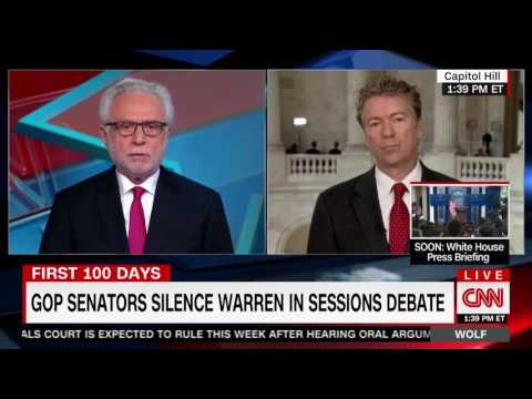"Sen. Rand Paul on CNN's ""Wolf"" - Feb. 8, 2017"