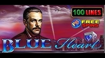 Blue Heart - Slot Machine - 100 Lines + Bonus