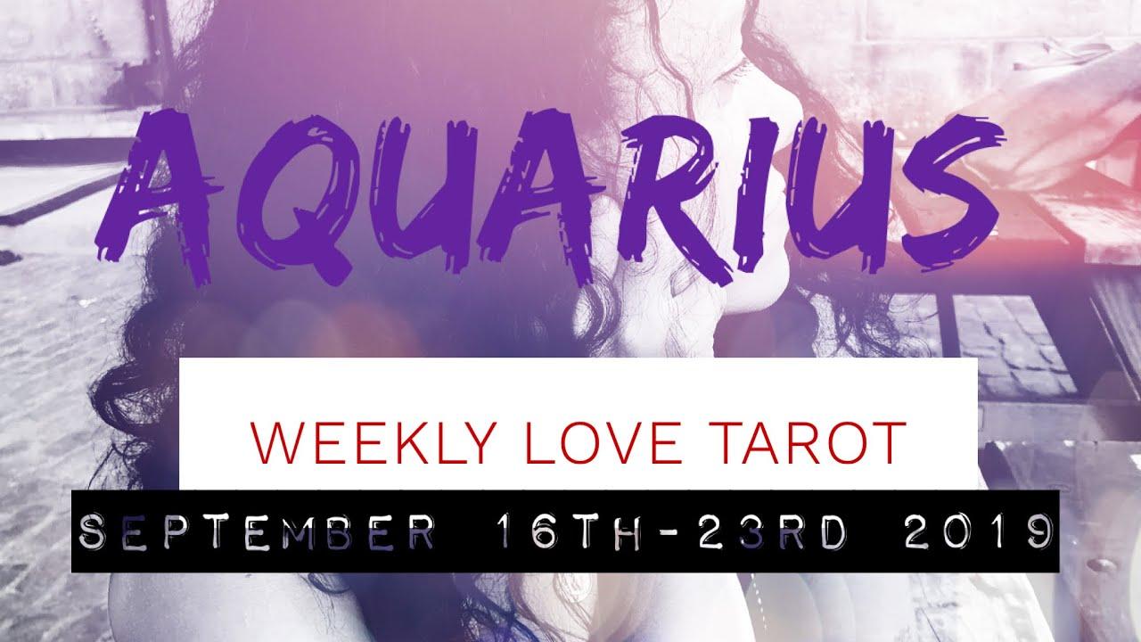 aquarius love horoscope weekly 17 to 23 by tarot