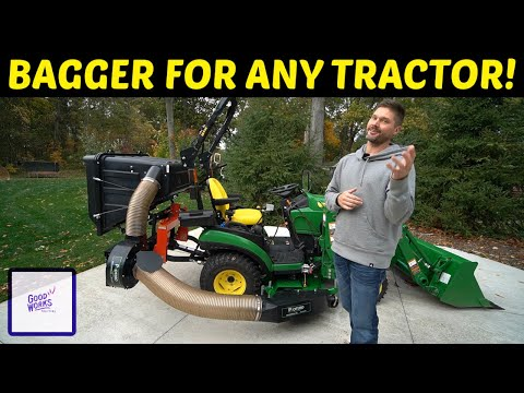 PTO DRIVEN BAGGER SYSTEM FOR TRACTORS! 👨🌾🚜👩🌾