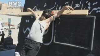 Shocking Syria crucifixion video emerges