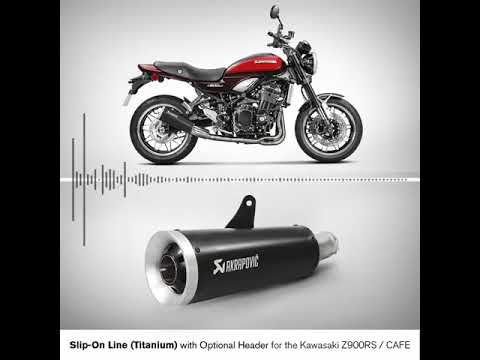 AKRAPOVIC header stainless steel for Kawasaki Z900 RS / Cafe 18->