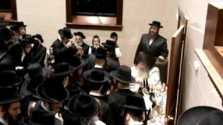 Chanukah with the Nikolsburg Rebbe 5770
