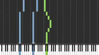 Repeat youtube video Fairy tail Main theme piano