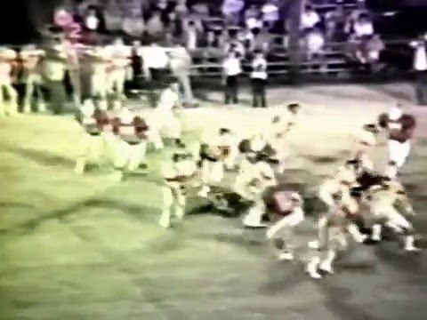 1985 Jay Bulldogs at Stilwell Indians Football (COLOR)