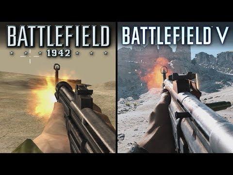 Battlefield V vs Battlefield 1942 | Direct Comparison thumbnail