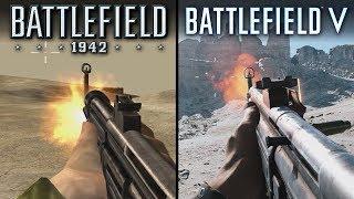 Battlefield V vs Battlefield 1942 | Direct Comparison