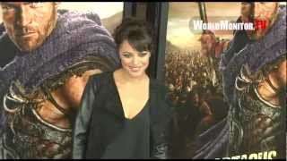 marisa ramirez arrives at spartacus war of the damned us premiere screening