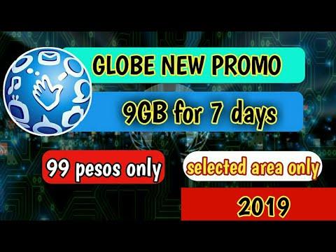 9GB for 7 days(GLOBE NEW PROMO)