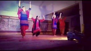 Bumro Bumro Shyam Rang-Dance perfomance-Mission Kasmir-SantiNiketan