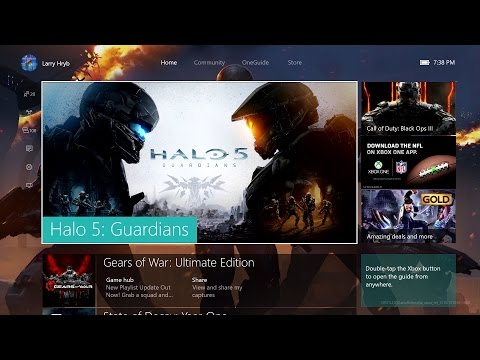 New Xbox One Experience Launches November 12th (video)