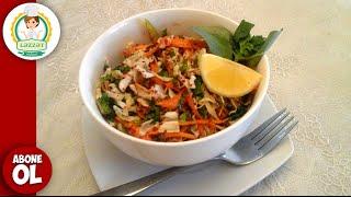 Diyetik Kelem Salati (Diyetik Lahana salatasi  ) ( капуста салат для похудения )