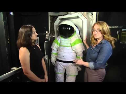 ISS Update: Z1 Spacesuit and Suitport Testing - YouTube