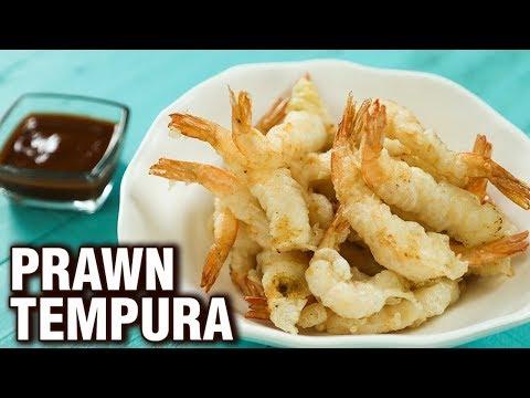 Prawns Tempura Recipe - Quick & Easy Tempura Prawns - Shrimp Recipe - Varun Inamdar
