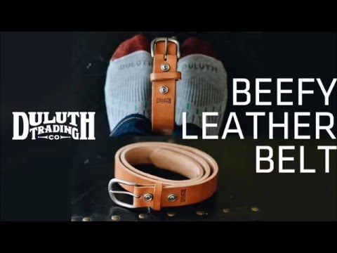 Duluth Trading BEEFY LEATHER BELT Review