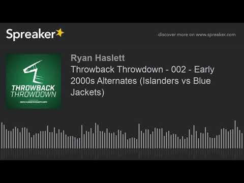 50be59b4fd Throwback Throwdown - 002 - Early 2000s Alternates (Islanders vs Blue  Jackets)