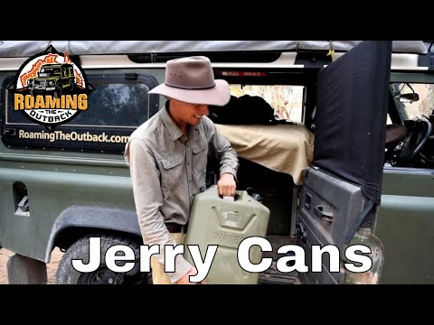 Defender Drinking Water Storage - Jerry cans