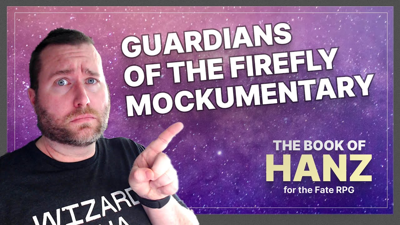 Guardians of the Firefly, a Sci-fi Crime Mockumentary — A Book of Hanz Fate RPG One Shot