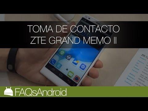 ZTE Grand MEMO II: pre análisis en vídeo | FAQsAndroid.com