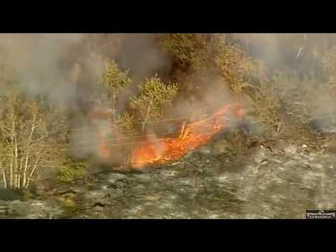 "San Bernardino County 7-22-17  ""Highland Fire Threatens Homes"""