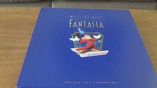 Unboxing the Disney's Fantasia: Deluxe Laserdisc Box Set