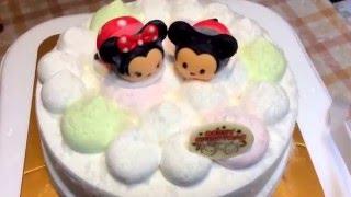 サーティワンのクリスマス アイス ケーキ2015 「ツムツム' カラフル...