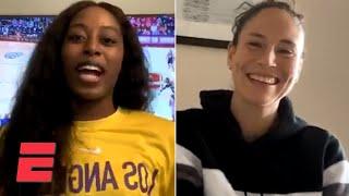 Sue Bird Talks Friendship With Kobe Bryant, Return Of NBA & WNBA With Chiney Ogwumike | NBA On ESPN