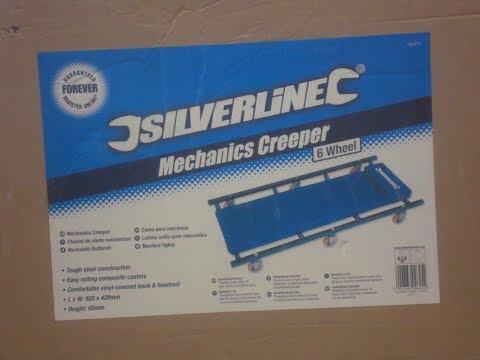Silverline Mechanic's Creeper.